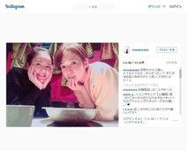 筧美和子 佐藤栞里と鍋を囲んだ仲良し2ショット公開