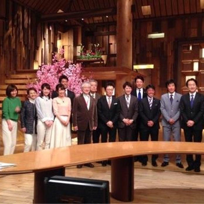 澤登正朗が報道ステーション新旧メンバーの集合写真を公開 - Ameba ...