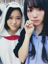 ℃-ute鈴木愛理「にゃぐっち」と2人で可愛すぎる猫コス