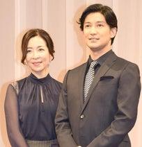 真矢ミキ、夫婦舞台初共演に気合十分 夫・西島数博と日本最古の恋演じる