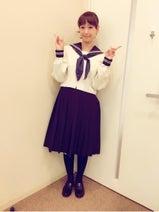 藤本美貴がセーラー服姿を披露「31歳夢叶う」