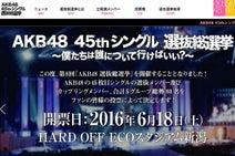 来月総選挙のAKB48 「どうでもいい」人の割合に愕然…