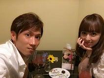 秋山莉奈 結婚1年、夫婦2ショット公開「想像もしてなかった」