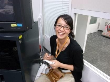 元日テレアナ・上田まりえ 7年前、新人時代の写真公開「細い」