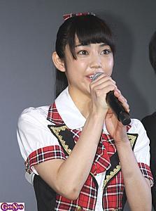 黒髪の山谷花純さん