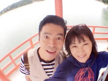 深沢邦之 妻・田中美佐子と仲良しデート、美肌2ショットも公開