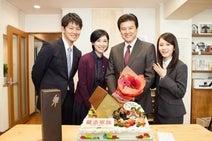 三浦友和の65歳誕生日を家族でお祝い!