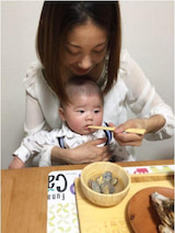 大渕愛子弁護士が次男のお食い初めの様子を公開