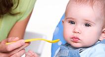 離乳食と一緒に子供の成長を学ぶ講座が開催