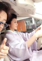 片岡愛之助が着物で運転する妻・藤原紀香の姿を公開し反響