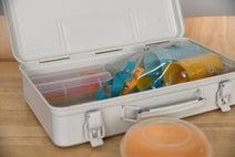 ピクニックグッズ、カトラリーもOK!無印「スチール工具箱」を使った収納術3つ