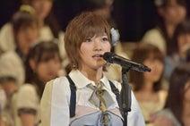 【第9回AKB総選挙】AKB岡田奈々、自己最高9位で2年連続選抜「グループの風紀委員長を目指す」