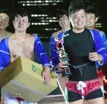 最強相撲芸人コンビはバッドボーイズ 極楽・加藤は老犬呼ばわりに苦笑