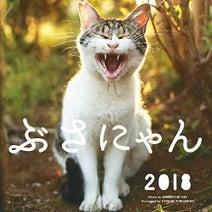 しまった、ザリガニ食べちゃった!…「2018 ぶさにゃんカレンダー」、10月1日販売開始