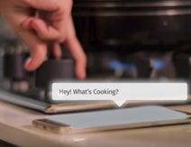 コンロのノブに取り付ければ話しかけてくる調理アシスタントが近未来感すぎる! スマートホームの拡張デバイスはここまで来ている