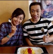 はなわ、沖縄で安室奈美恵が食べていたオムライス堪能