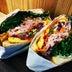 ジューシーで美しいサンドイッチ「富士豚のグリーンペッパーポーク」が絶品すぎる件 / トーストサンドイッチ バンブー