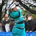 鈴木のティーショット=女子ゴルフ