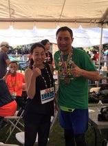 竹原慎二 ホノルルマラソン完走で浅田真央と2ショット「追いついてやろうと頑張った」