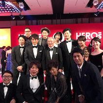 大林素子『HEROs AWARD2017』の表彰式に参加 中田英寿&宮本恒靖らと豪華集合ショット公開