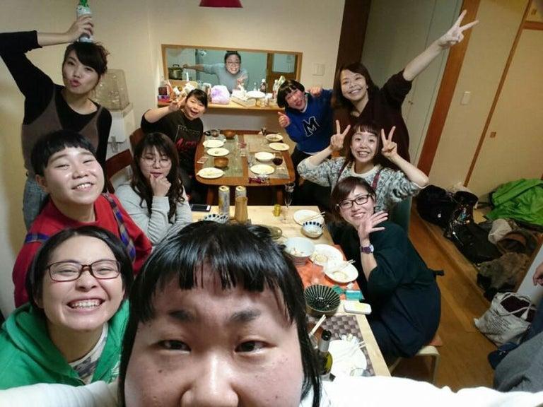 ニッチェ・江上宅に女芸人が集合「旦那様がうらやましいっすー!」