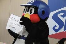 つば九郎、年俸アップを望むも現状維持「らいねんは、だいりにんこうしょうだな」