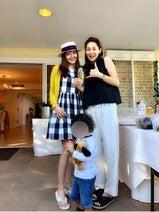 神田うの、伊東美咲とハワイのパワースポットでBBQ「本当に最高です」