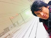 川崎麻世 「シャレにならない大雪」の中、ホームで立ち往生したこと明かす