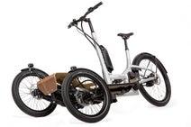 トリシティみたいな電動アシスト自転車「CD1 CARGO」-3輪なのに気持ちよくカーブを曲がれる