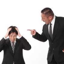 怒鳴る上司が怖い。対処法は?