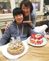 北斗晶、次男の15歳誕生日をお祝い「素敵なあたたかい家族」「良い子に育ってますね」の声
