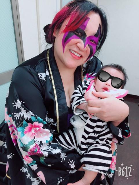 産後のミス・モンゴル 半年ぶりのプロレス復帰「次は覚悟します」