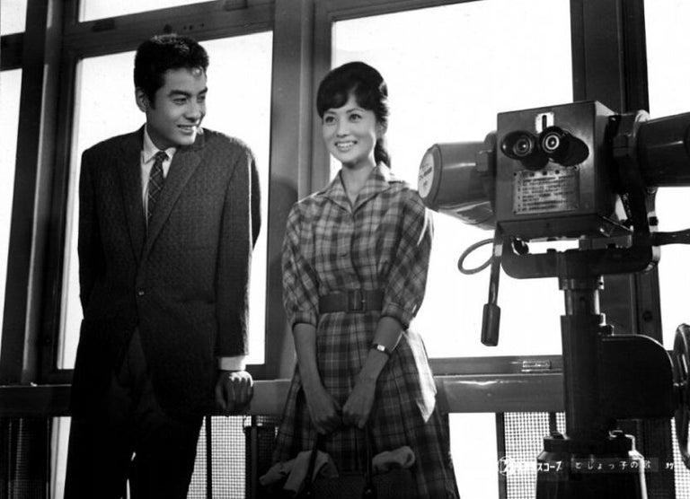 高橋英樹、浅丘ルリ子との57年前ショット公開 17歳に見えない風貌にファンも驚き