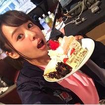 山田菜々、ダイエット中でも誕生日ケーキぱくり「食べたぶん、頑張って動きます」