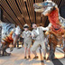 「恐竜の日」に渋谷ヒカリエで肉食恐竜ユタラプトルが出現!