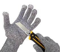 サードウェーブ、鋭利な刃物から手を保護するスマホ対応の耐切創手袋を発売