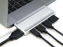 アーキサイト、MacBook Pro専用のUSB-Cマルチポートドックを発売