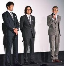 斎藤工より高身長! 阿部寛、豊川悦司、松重豊の50代トリオが揃い踏み
