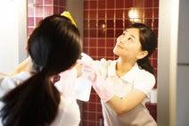 お風呂の鏡、汚れを放っておくと広がっていく…!? 浴室の鏡をキレイにする基本の方法
