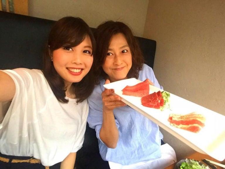 森尾由美、長女に誘われ久々の焼肉へ「ご馳走になっちゃいました」