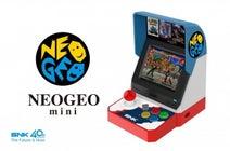 傑作タイトル40作品を収録!家庭用ゲーム機「NEOGEO mini」この夏発売へ!