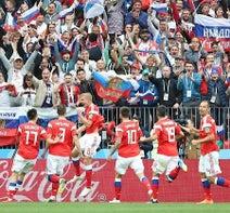 ロシアが開幕戦制す=サッカーW杯