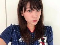 久松郁実、日本代表ユニフォーム姿に「むちゃくちゃ可愛い」の声