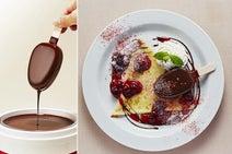 池袋パルコに人気アイス「パルム」とのコラボカフェが登場!チョコ2度づけのリッチなパルムを堪能