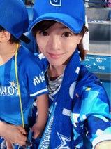 釈由美子、野球を生観戦し息子が大興奮「おおおおおーヤシュアキー」