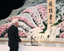 犠牲者の冥福祈り追悼式=被災1年、生活再建課題-九州北部豪雨