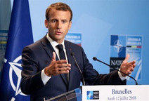 仏大統領、米のNATO関与継続歓迎