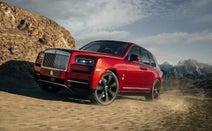 Rolls-Royceカリナン──砂漠でも魔法の絨毯は健在だ