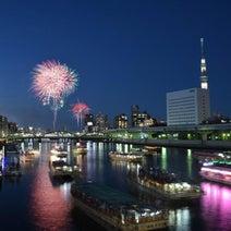 打ち上げ数が1万発以上、東京【7大】花火大会!次々あがる花火に感動して