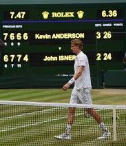 アンダーソンが初の決勝へ=ナダル-ジョコビッチは順延-ウィンブルドンテニス